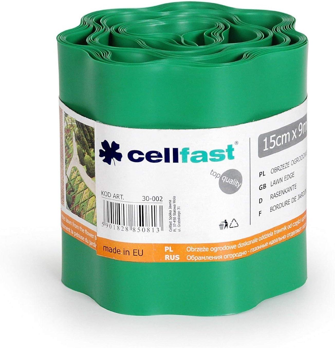 Cellfast, verja de césped marrón, 22 x 22 x 0,1 cm: Amazon.es ...