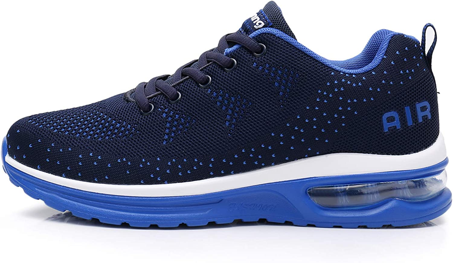 AMAXM Mens Athletic Air Running Shoes Breathable Tennis Lightweight Jogging Gym Sneakers/ M US6.5-11.5 D