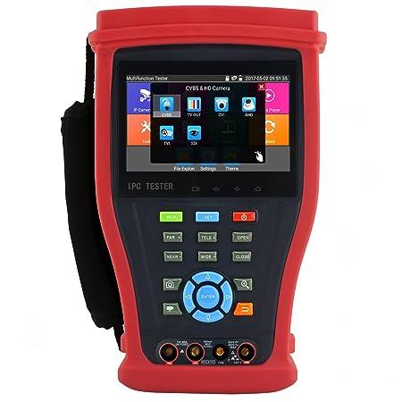 Amazon.com: NEW 6-IN-1 CCTV Camera Tester Support 4K/H.265 IP 3.0TVI 3.0AHD 3.0CVI EX-SDI HD-SDI Analog Camera Test Monitor With Digital Multimeter: Home ...