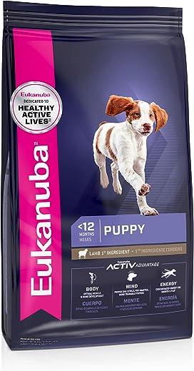Eukanuba Puppy Dry Dog Food Lamb & Rice