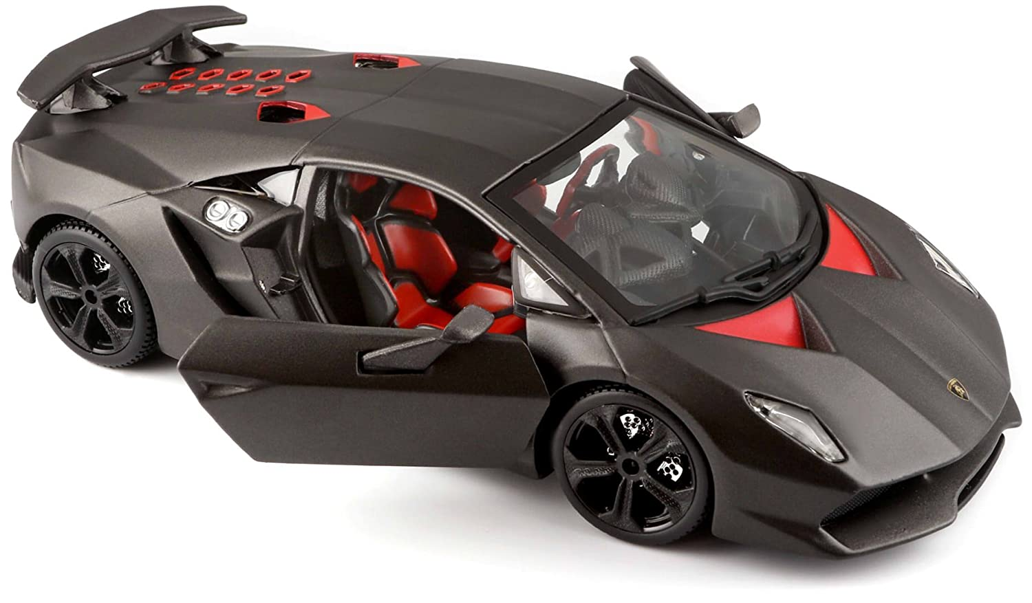 Buy Bburago 1 24 Star Lamborghini Sesto Elemento Gray Online At