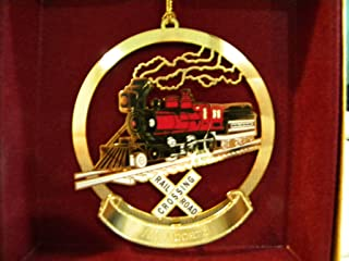 product image for ChemArt 2-6-0 Steam Locomotive Ornament - All Aboard