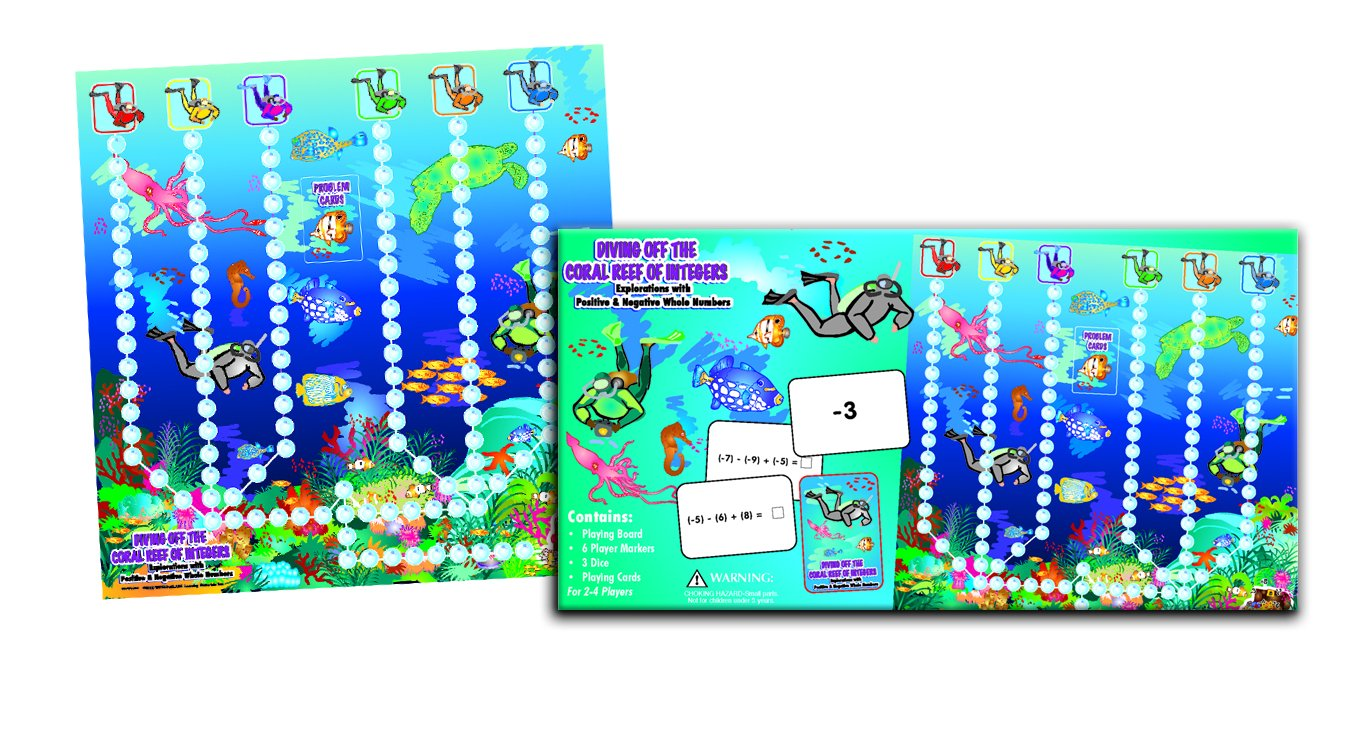Diving Off the Coral Reef of Integers Game Explorations with Positive Negative Whole Numbers