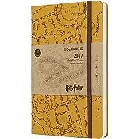 Agenda Capa Dura, Moleskine, 2019 Edição Limitada Harry Potter, Grande (13x21 cm), Bege