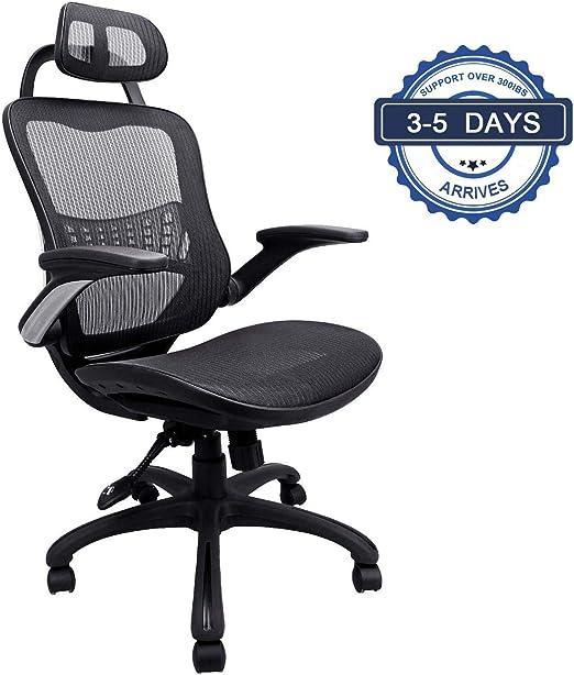 Komene Ergonomic Office Desk Chair - Reduces Pressure