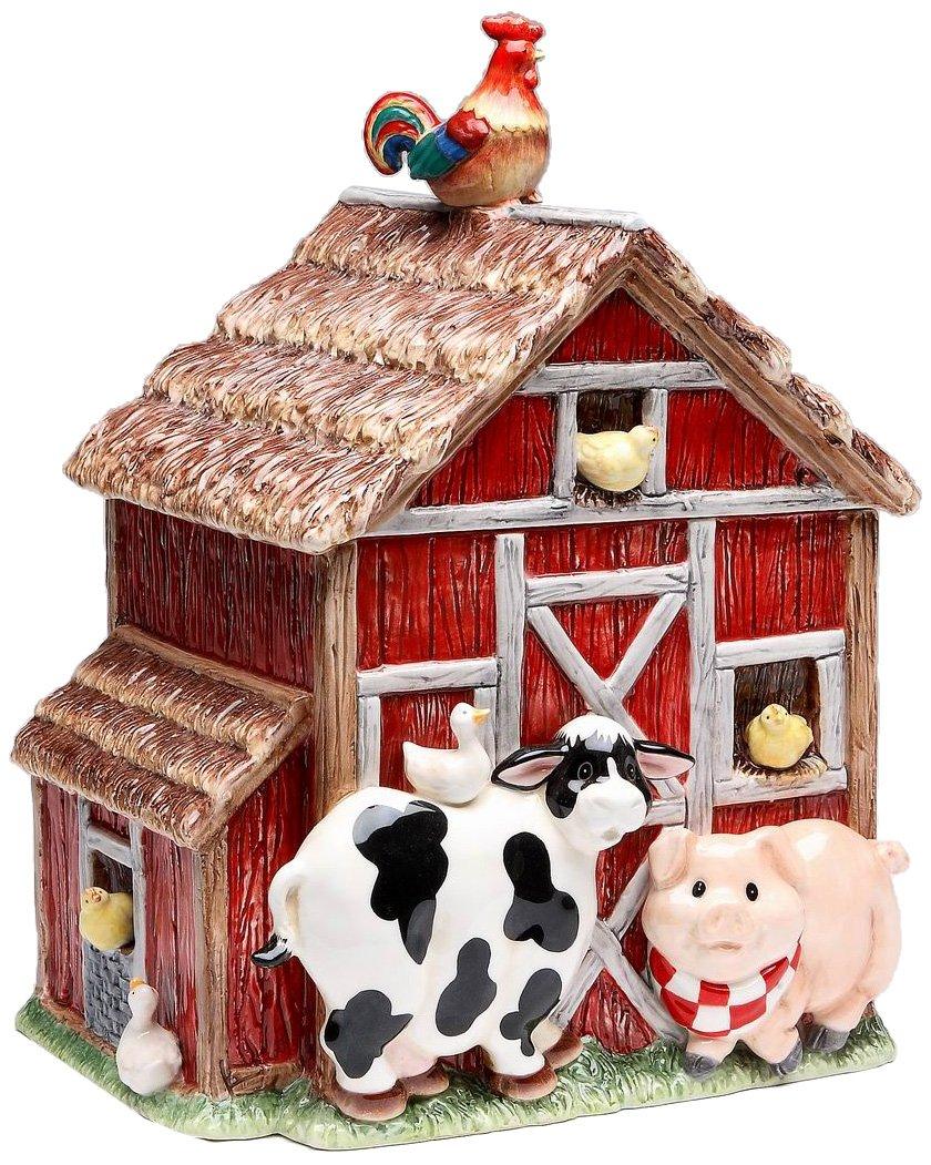 Barn Yard Cookie Jar,
