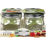 Collection Elite Pint (16-oz.) Wide Mouth Jars