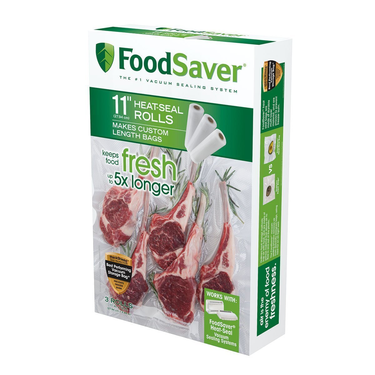 FoodSaver 11'' Roll (6 Rolls) by FoodSaver (Image #1)