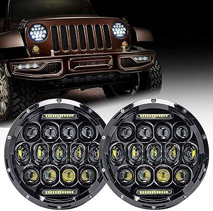 Jeep Wrangler Led Headlights >> Firebug Jeep Led Headlight 75w 9000 Lumens Hi Lo Beam Jeep Wrangler Headlights Drl Jeep Tj Led Headlights Jeep Jk Led Headlights Jeep Wrangler Jk