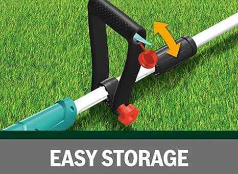 Bosch EasyGrassCut 12-230 - Cortabordes a batería (2 cuchillas DuraBlade, protector de plantas, en caja de cartón, diámetro de corte: 23 cm, sistema ...