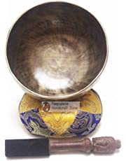 """6"""" Antique Finishing Color Tibetan High quality Meditation Singing Bowl Set by Nepalese Handicraft Zone"""
