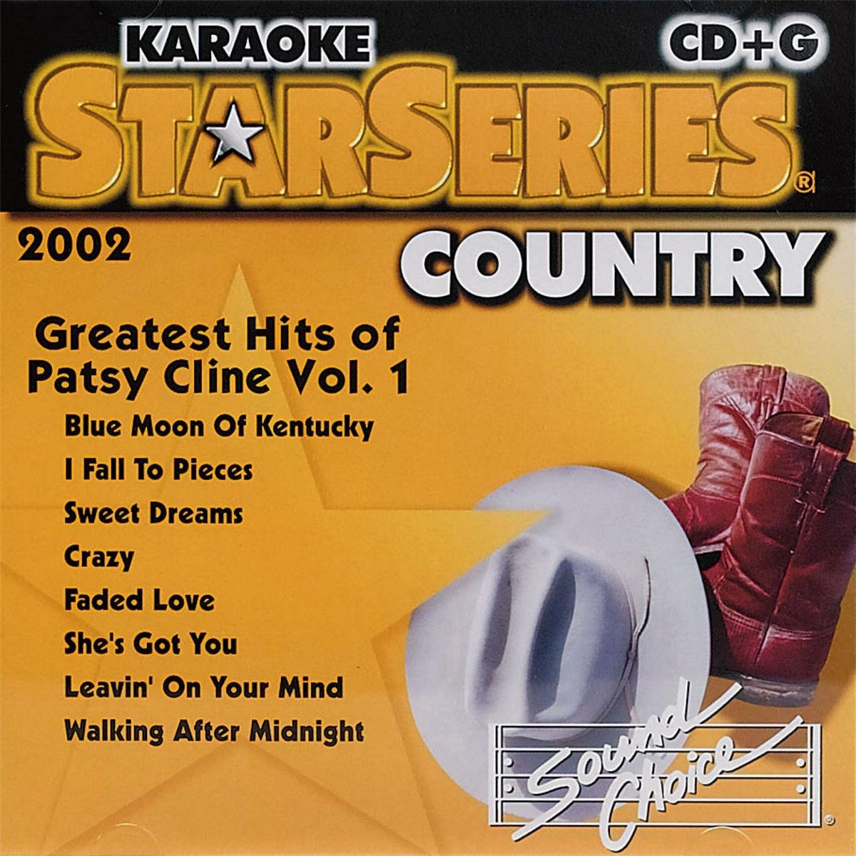 Karaoke CDG - Greatest Hits Of Patsy Cline Vol. 1
