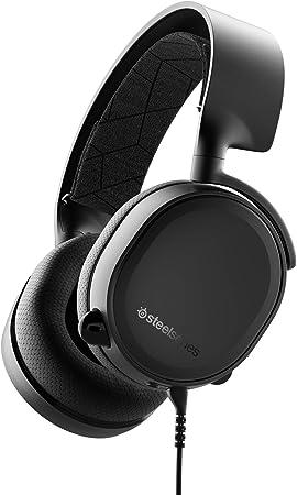 SteelSeries Arctis 3 - Auriculares de Juego Multiplataforma para PC, Playstation 4, Xbox One, Nintendo Switch, RV, Android y iOS, Negro: Amazon.es: Electrónica