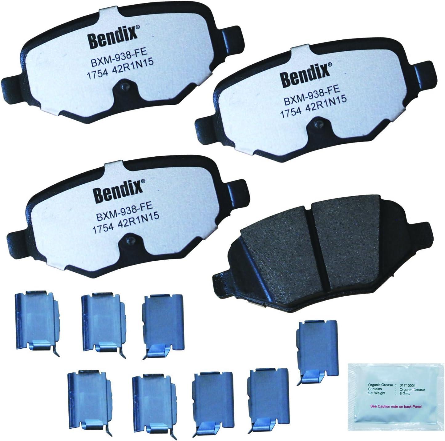 Bendix Fleet Metlok MKD1754FM Brake Pad