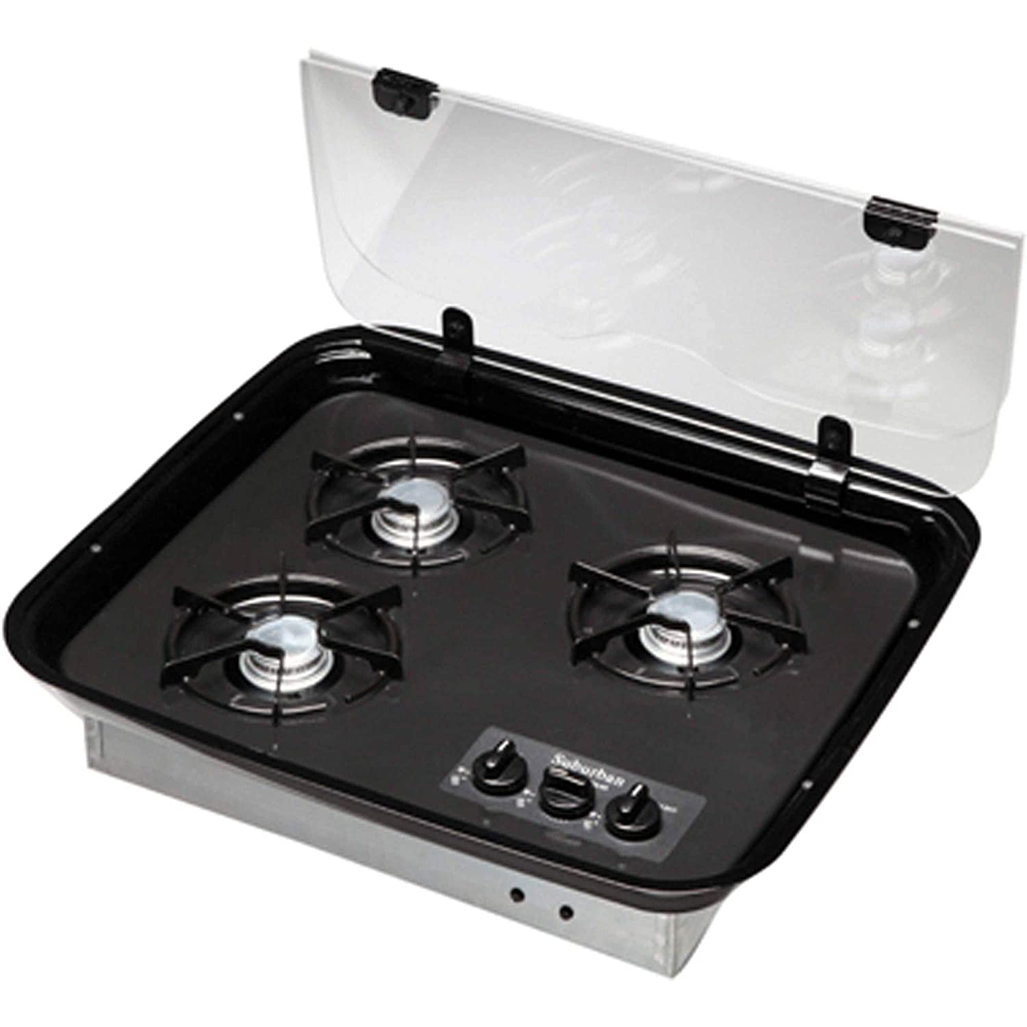 Suburban 2985A Glass Cooktop Cover - Slide-In Cooktops and Ranges