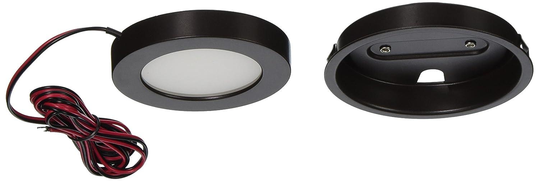 WAC照明Contemporaryエッジ点灯 – LEDボタンライト HR-LED90-27-BN 1 B00TOE4FU4 12256 つや消しニッケル|2700K つや消しニッケル