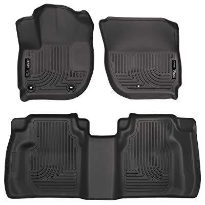 Husky Liners 99491 Front & 2nd Seat Floor Liners (Footwell Coverage) Fits 15-16 Fit: Automotive [5Bkhe0100313]