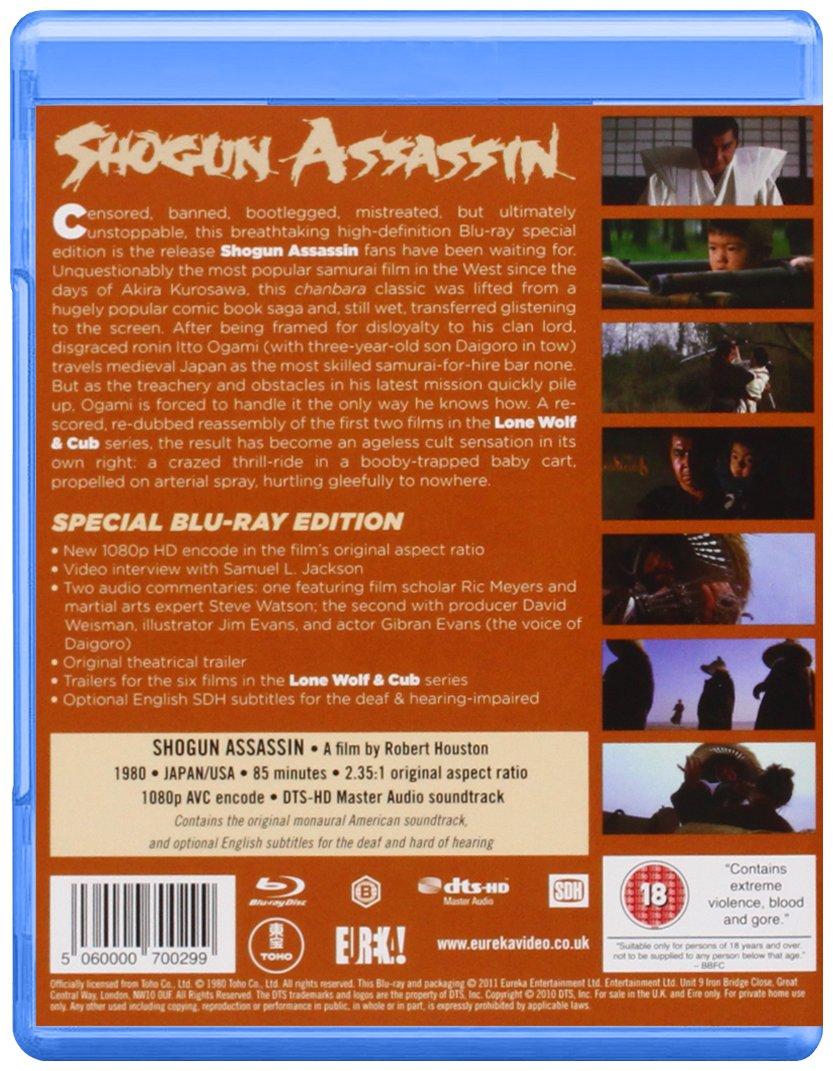 Amazon.com: Shogun Assassin [Blu-ray]: Tomisaburo Wakayama, Akihiro Tomikawa, Robert Houston: Movies & TV