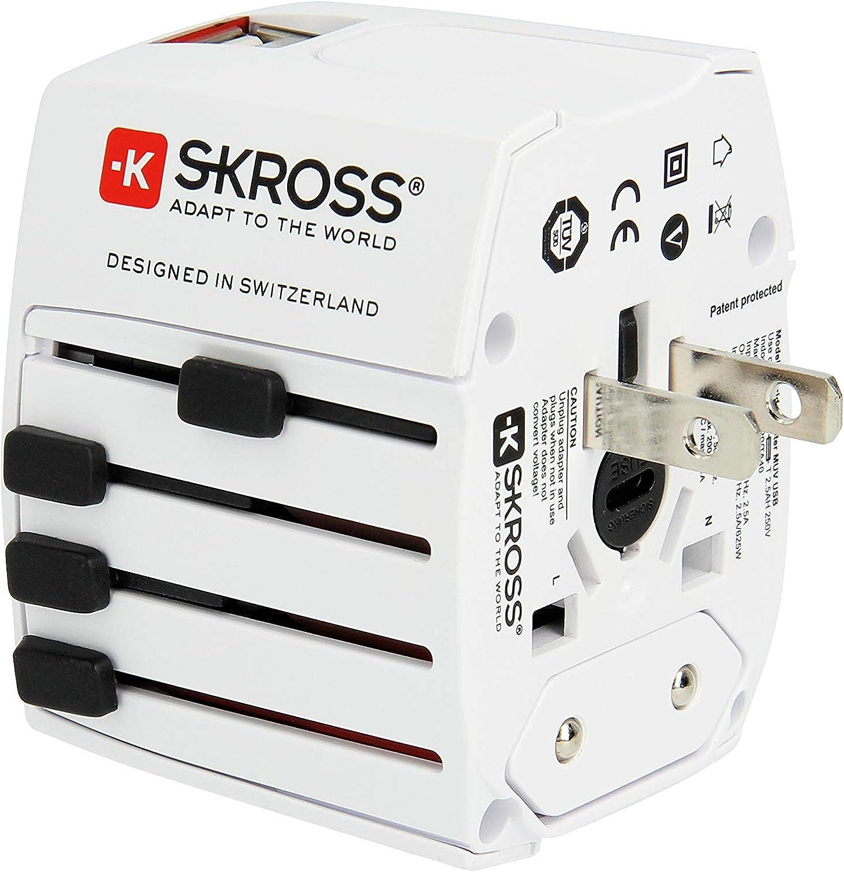 Skross 1 302930 World Adapter Muv Usb Elektronik