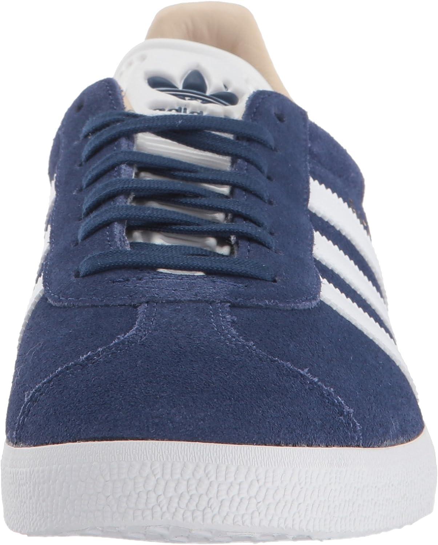 adidas Originals Women's Gazelle Sneaker Noble Indigo/White/Linen