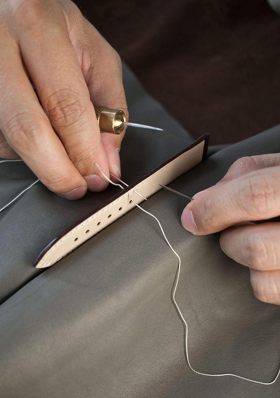 RIOS1931 Hudson Bracelet de montre en cuir Suede fabriqué à la main en Allemagne classique Grau Goldene Schließe