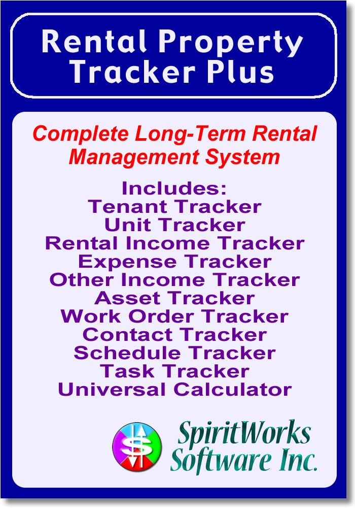 Amazon Com Rental Property Tracker Plus Download Software