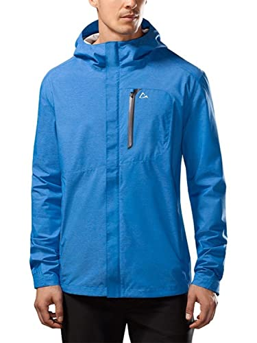 Paradox Men's Waterproof Breathable Rain Jacket Large Cobalt Blue best men's raincoats