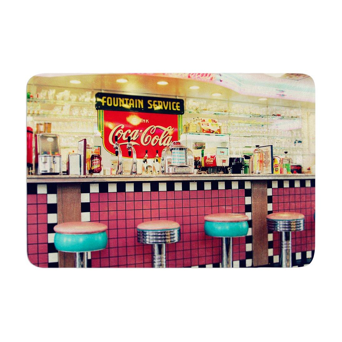 Retro Diner Coca Cola Memory Foam Mat