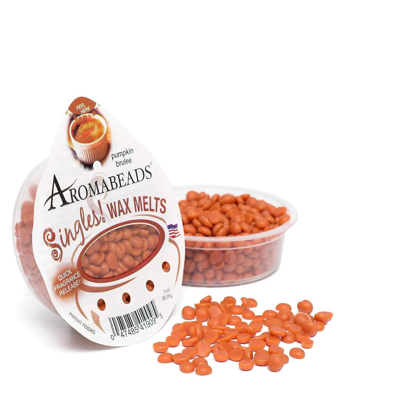 Aromabeads SinglesワックスMelts Pumpkin Brulee 1 oz B078G9TQ5P