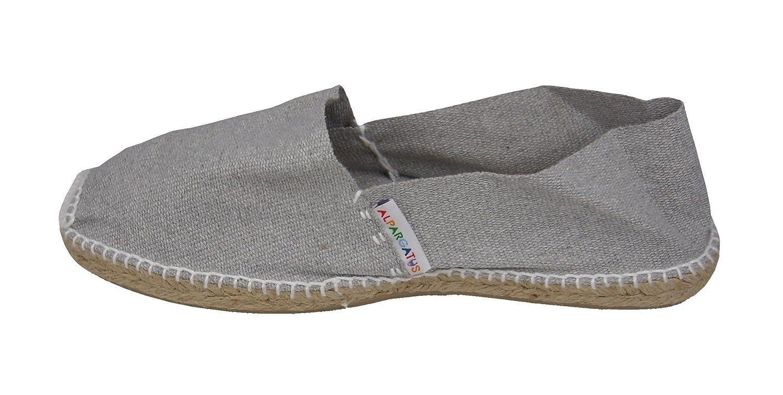 Alpargatus - Alpargata Clasica Plana Gris - Talla - 42, Hombre: Amazon.es: Zapatos y complementos