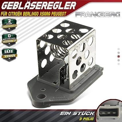 Regulador de ventilador de resistencia para Berlingo MF C5 I DC DE ...