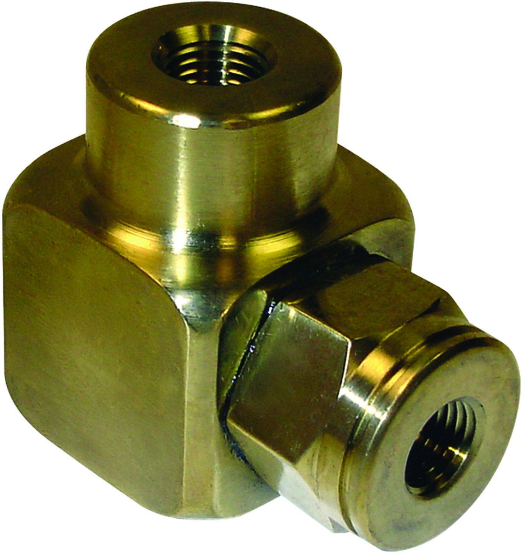 5//8 UNF Thread Size 1.08 Length Midland 10-020 Brass SAE 45 Degree Flare Short Rod Nut 1.00 Hex