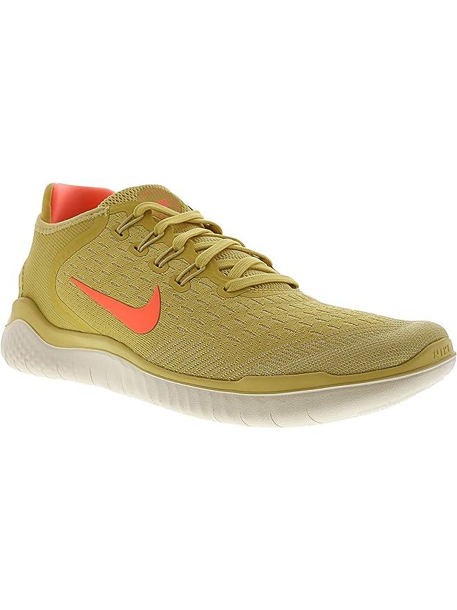 037638af7abdb Nike Free Rn 2018 Sz 6.5 Womens Running Lemon Wash/Crimson  Pulse-Fossil-Sail Shoes