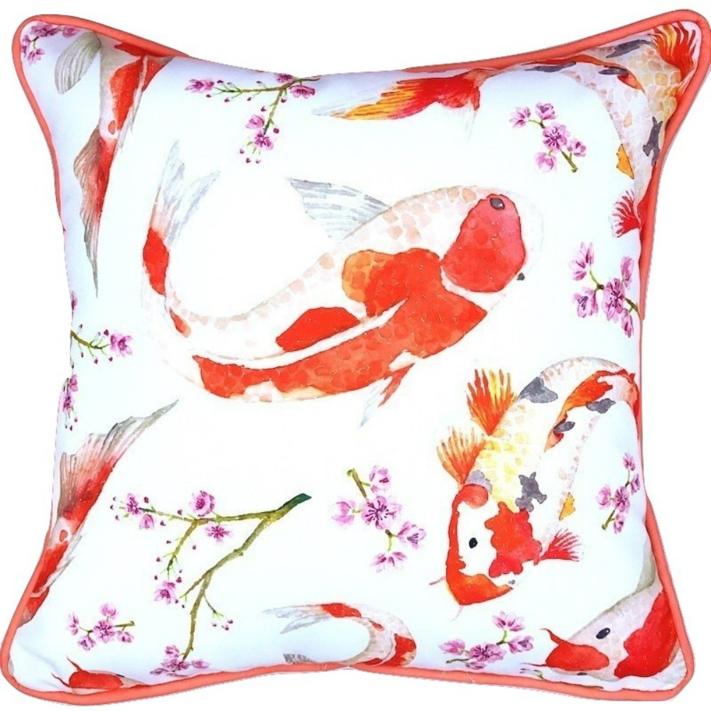 Outdoor Pillows Cushions For Patio Furniture Made of Premium Material, Water Resistant and Made in California