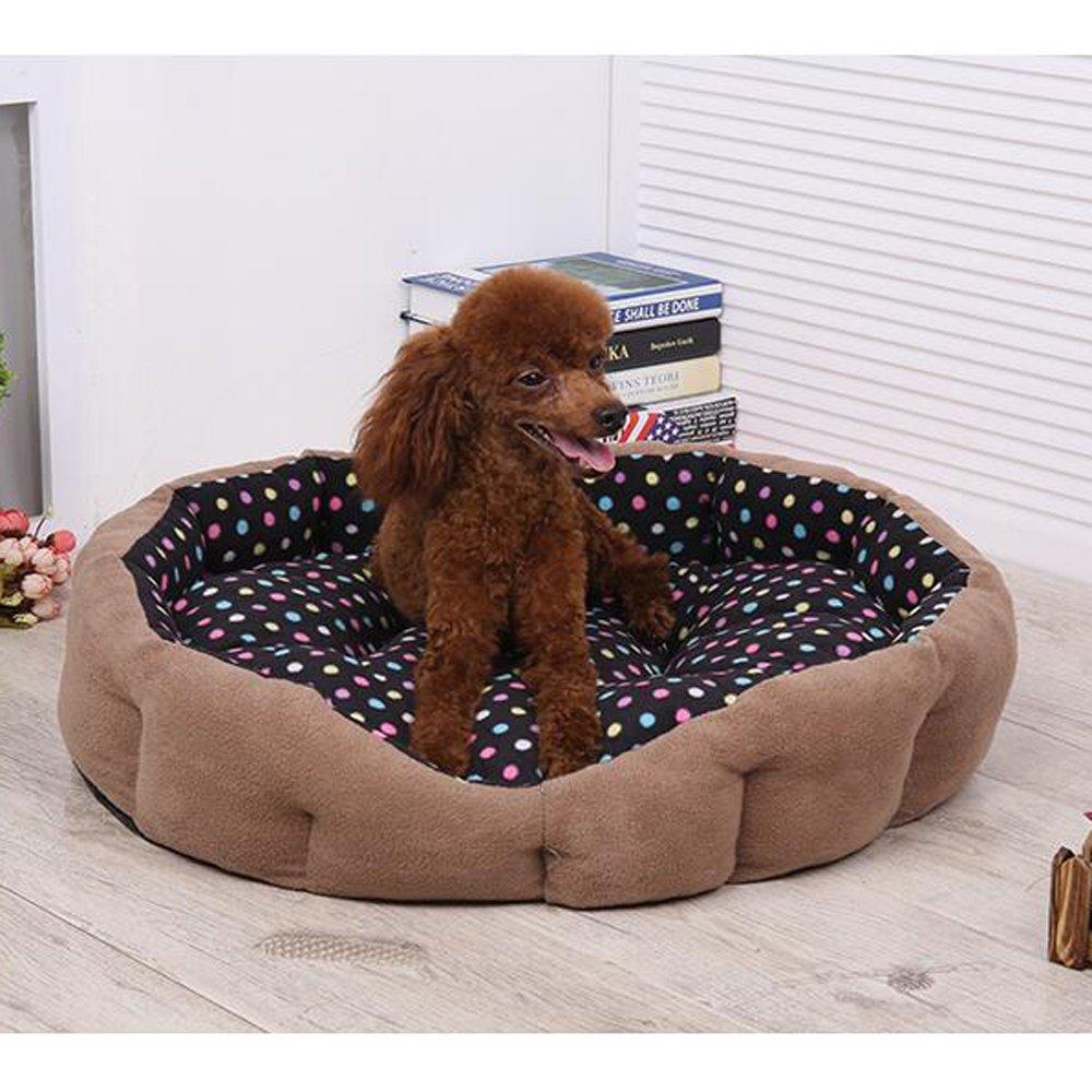 LDFN Cálido Perrera Lavable Mascota Gato Camadas Grandes Temporadas Perro Universal Cama Suministros para Perros,H-43cm: Amazon.es: Hogar