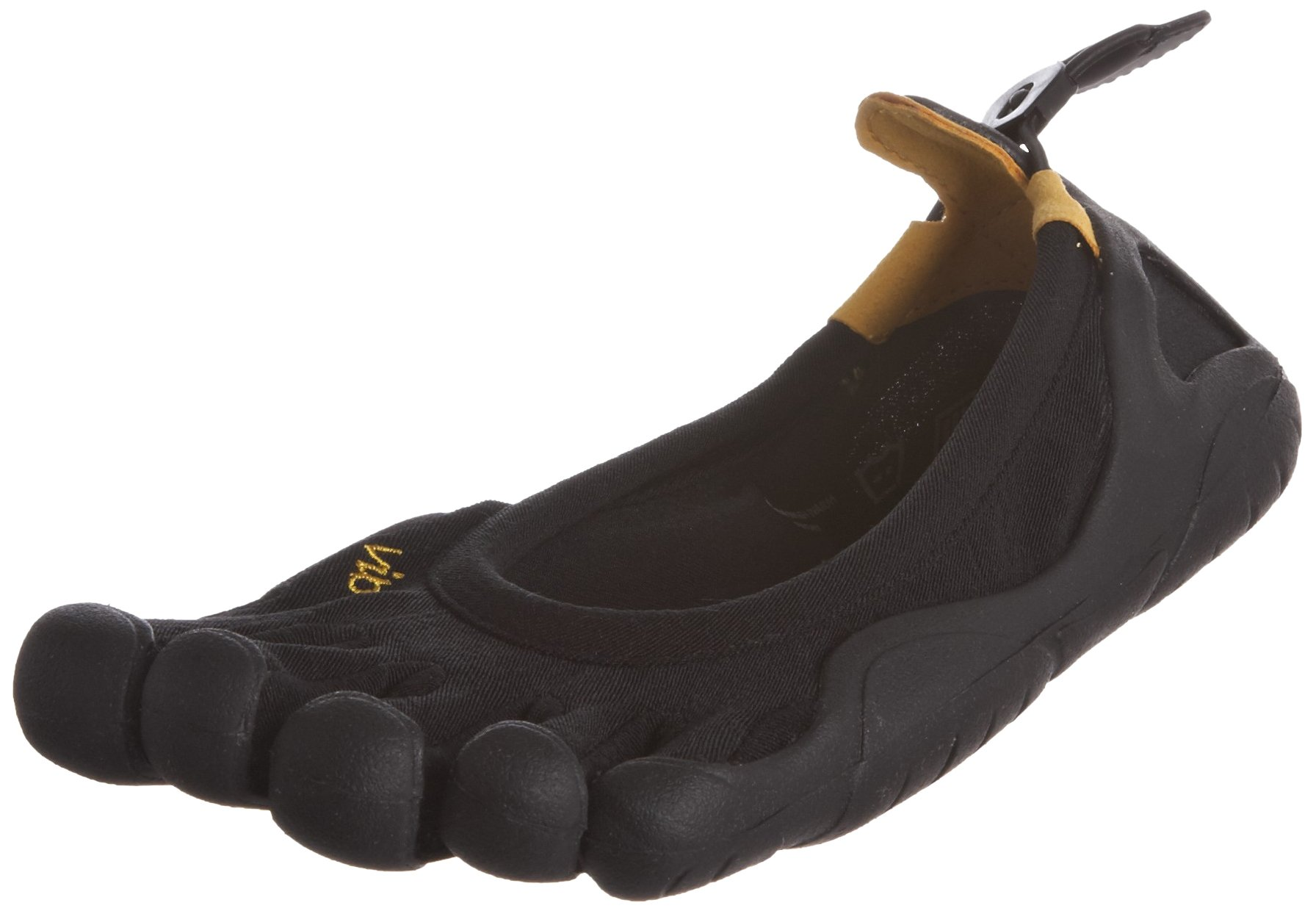 Vibram Women's Classic Running Shoe, Black, 38 EU/7 M US