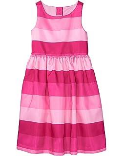 bb0737d281c5 Amazon.com: Gymboree Girls' Little Sleveless Seersucker Dress: Clothing