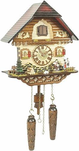 Trenkle Quartz Cuckoo Clock Black Forest House TU 453 Q HZZG