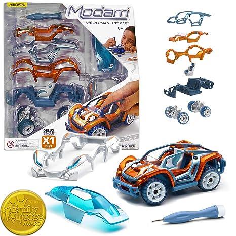 Build Your Car >> Amazon Com Modarri Delux X1 Dirt Car Build Your Car Kit Toy Set