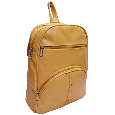 a95d9daed197 YOTOVA A3 Fancy Stylish Trendy Synthetic Backpack for Women (Beige)  Amazon. in  Shoes   Handbags