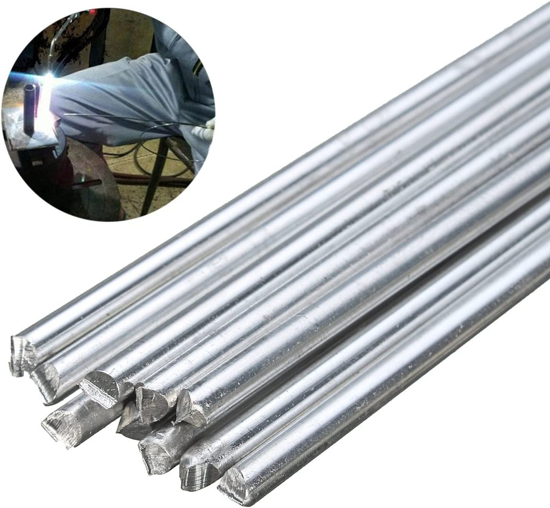 10pcs Aluminium Low Temperature Tig Welding Soldering Brazing Rods 3.2mm*450mm