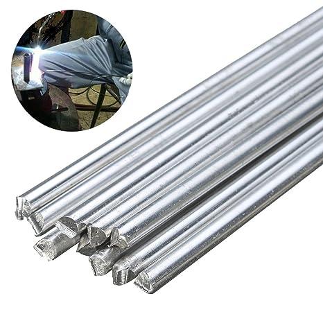 10pcs Aluminio baja temperatura de soldadura de soldadura para reparación 3,2 x 230 mm