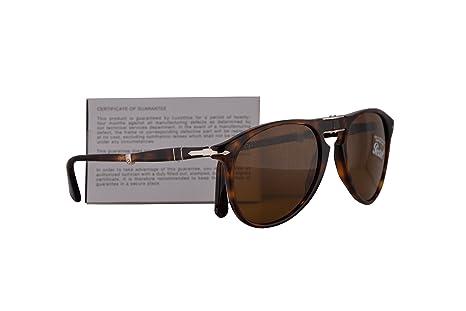 6b8c9f7d07754 Amazon.com  Persol PO9714S Sunglasses Havana w Brown Lens 52mm 2433 PO9714-S  9714S PO 9714-S  Clothing
