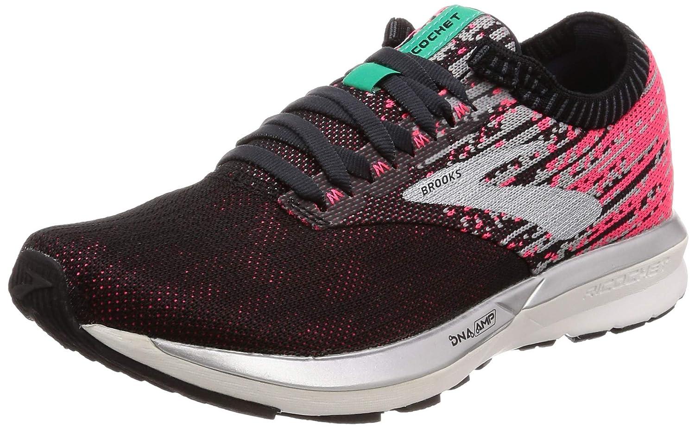 MultiCouleure (rose noir Aqua 678) Brooks Ricochet, Chaussures de Running Femme 42 EU