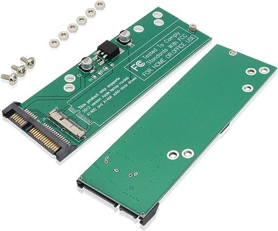 "SSD SATA Converter for Macbook Air 11/"" 13/"" A1465 A1466 2012 Adapter"
