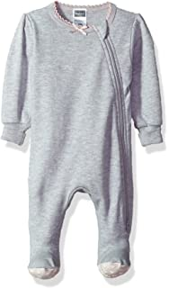 d47519f4c Amazon.com  Kushies Baby Infant Side Zipper Sleeper  Clothing