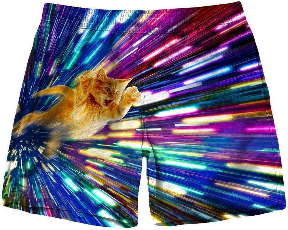 On Cue Apparel Vortex Cat Shorts