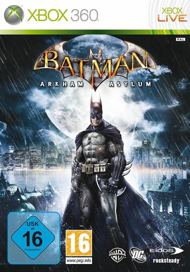 Software Pyramide Batman: Arkham Asylum Xbox 360 Alemán vídeo ...