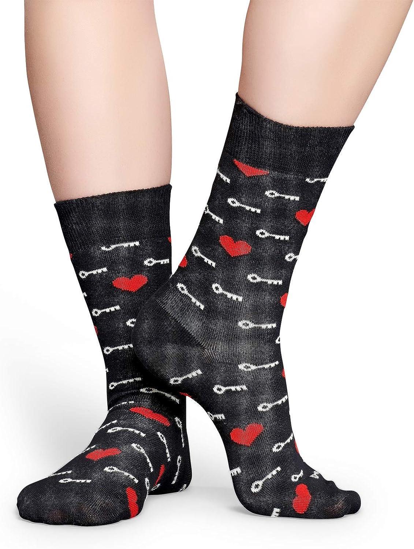 Marino//Blanco Happy Socks 2 Paquetes De Shooting Hearts /& Cherries Calcetines De Entrenador