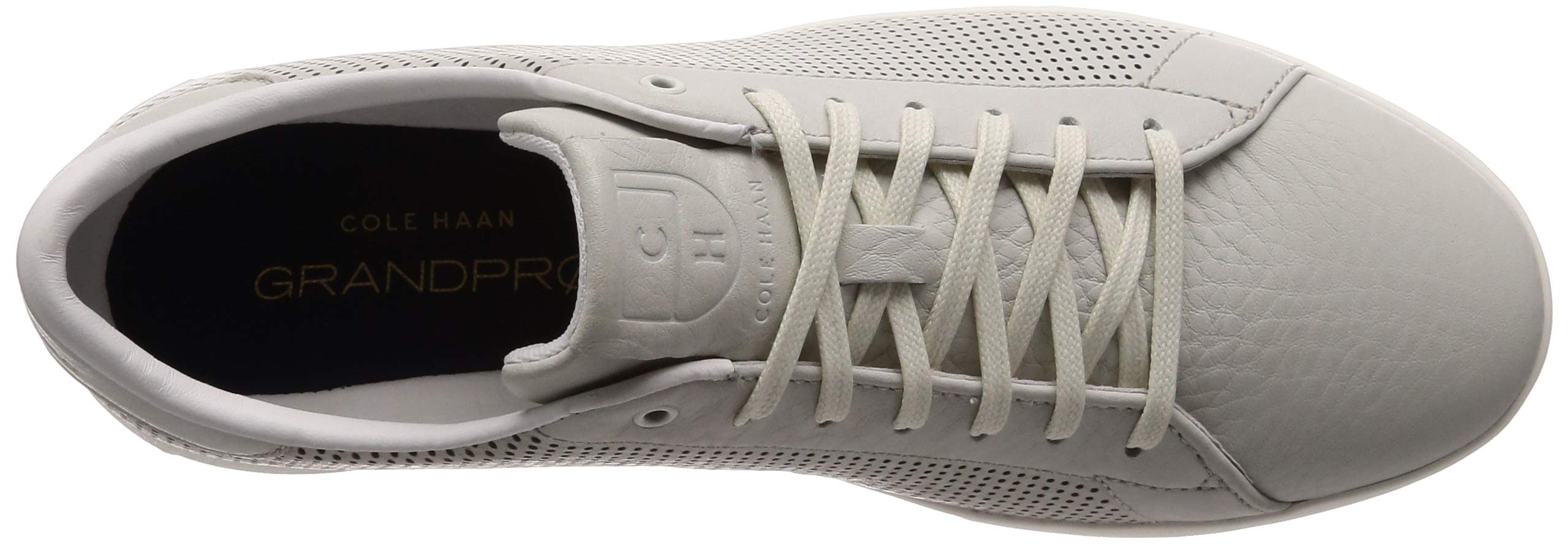 Cole Haan Mens Grandpro Tennis Sneaker 7 Chalk Tumbled Leather by Cole Haan (Image #7)